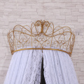 Último diseño Princess Crown Top Mosquiteras Encaje