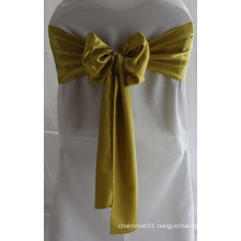 Customized Satin Sashes for Special Events Chair Covers