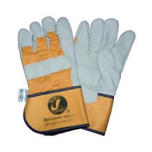 Cow Grain Glove, Boa Liner Winter Glove, Safety Glove