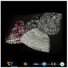 Fashion New Stylish Reflective Running Knit Hat with reflective yarn on it