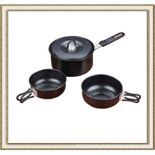 Non Stick Camping Cookware Set Cl2c-Dt1512-4