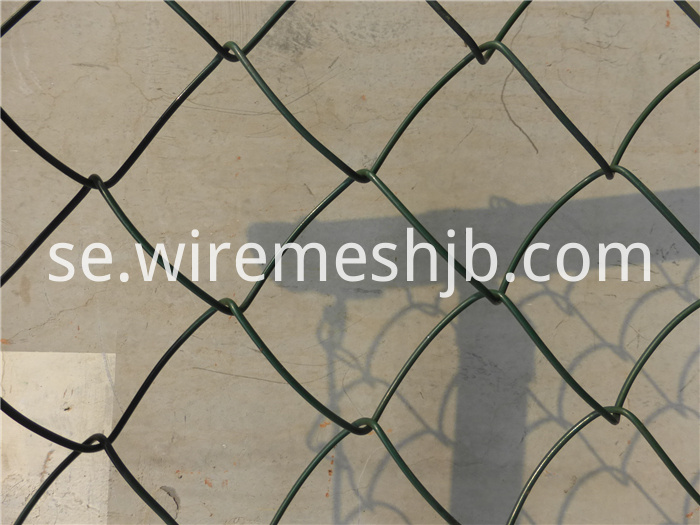 PVC Chain Link Fence