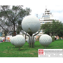 Garden Sphere Light Sculpture