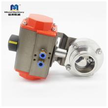 Санитарный клапан высокого качества из нержавеющей стали 304 / 316L