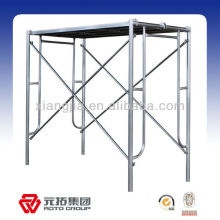 H type painted galvanized plastic scaffolding frames