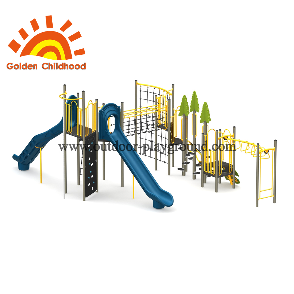 Central Park Outdoor Playground Equipment