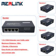100м 1 до 4 VGA-удлинитель