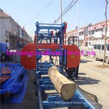 Portable Wood Band Saw Machine Mj700 Horizontal Bandsaw