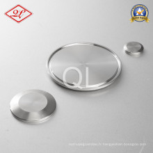 Capuchon en acier inoxydable sanitaire en acier inoxydable 16AMP