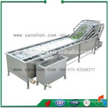 China De Alta Eficiencia De Acero Inoxidable De Frutas Y Verduras Lavadora