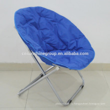 Cheap folding chair/moon chair/folding beach lounge chair