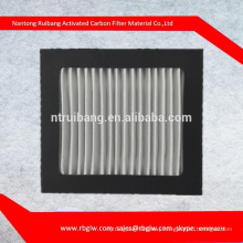 manufacturing all kinds of HEPA air filter activated carbon charcoal filter Carbon Cabin Air Filter