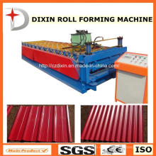 Dx de alta calidad de acero de azulejos de doble capa de rodillo que forma la máquina