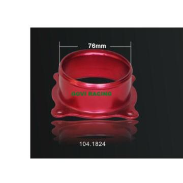 Red CNC Maschine Schneiden Universal Aluminium Car Adapter für Luftfilter