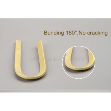 180C grado 0.40mm thichness doble vidrio fibra cubierta aluminio alambre, fibra de vidrio con esmaltado