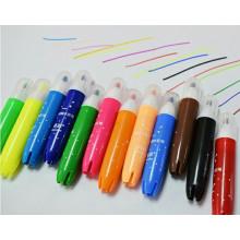 jogo de caneta de varredura de escova de highlighter de aquarela