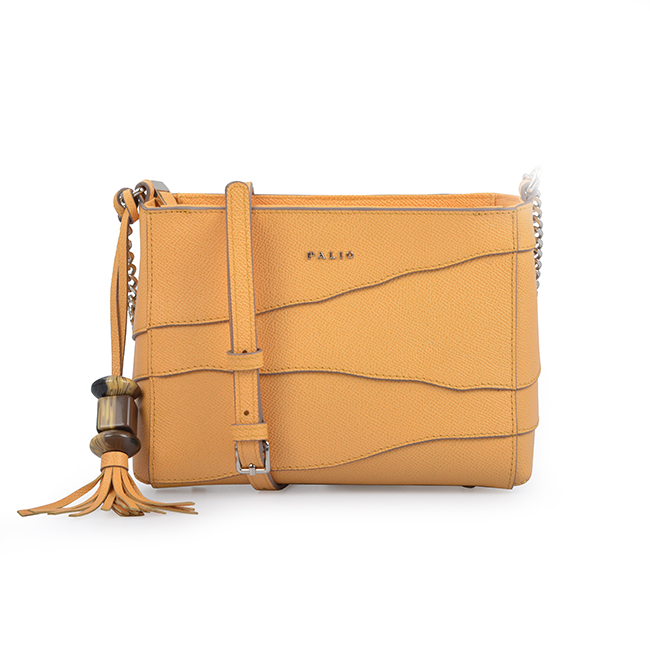 Lady Contrast Color Block Shoulder Bag Women Leather Vintage Crossbody Bag with Tassel