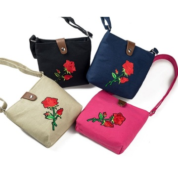 Mode Frauen Messenger Bag Stickerei Frauen Handtasche