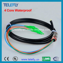 Câble imperméable à l'eau, chevets extérieurs