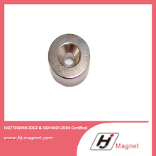 Strong N52 Cylinder NdFeB Magnet with Hole with High Power