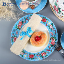 Floral geteilte Teller und Gerichte Bone China Dinnerware Hersteller