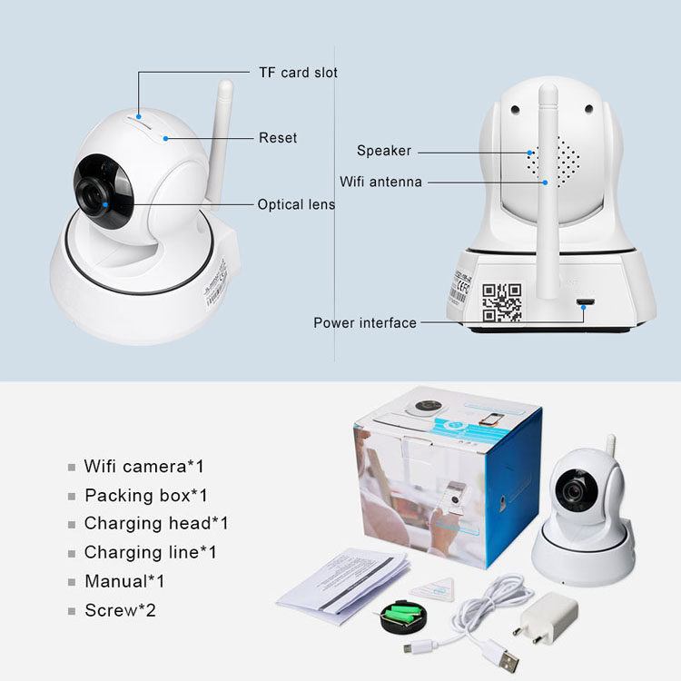 indoor wifi camera 720p
