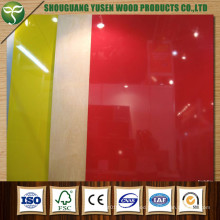 Various Colors UV MDF Board