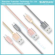 Cable USB de carga rápida Micro Data para Samsung iPhone