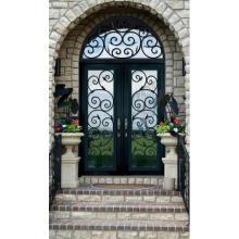 Amerikanische klassische schmiedeeiserne Türen
