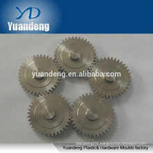 cnc metal turning machine parts aluminum pinion gear