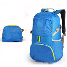OEM 35L Nylon Water Proof Foldable Promotional Backpack for Travel