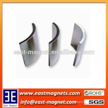 Imán sinfín del imán del altavoz de NdFeB / imán del motor / imán de la forma del arco para el motor eléctrico