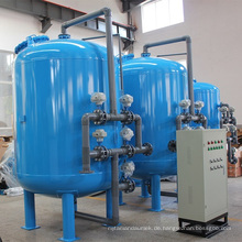 Automatische Rückspülung Multimedia Quarz Sand Filtration für Wasseraufbereitung