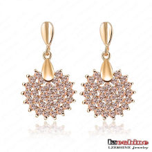 Swa Element Crystal Dangle Earrings (ER0071-C)