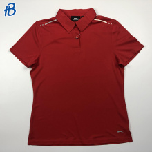 New men red polo sport t-shirt