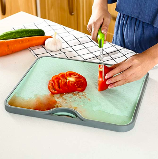 Wheat Straw fruit cutting board
