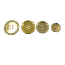 Accesorio de ropa de Dongguan Botón de metal de 4 agujeros
