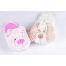 cuit piggy fluffy warm winter indoor slipper custom audit plush slipper
