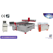 With 1000x2000mm cutting table and 420Mpa pump glass cutting machine by water jet