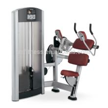 Equipamentos de ginástica novos produtos equipamentos de fitness máquina abdominal