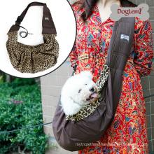 Pet Sling Bag Reversible Fashion Puppy Dog Cat Bag