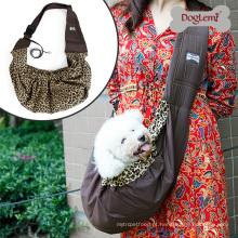 Pet Sling Bag Reversível Moda Puppy Dog Cat Bag