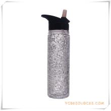 Tasse givrée à double paroi Tasse à bière glacée glacée pour cadeaux promotionnels (HA09122-1)
