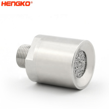 Sintered SS316L stainless steel flame-proof protective filter housing gas o2 sensors