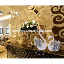 Новый дизайн красивый лебедь смолы домашней части украшения для оптовой продажи