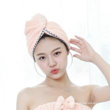 Фабрики Китая 25*65см,300гр сушки волос полотенце с кнопками