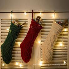 Женские чулки ног носки для Рождественский зимний