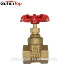LB-GutenTop 4 pouce couteau laiton vanne vanne BSP filetage robinets à vanne pétrole et gaz pipeline