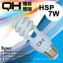 Energy Saving Lamp/CFL Lamp 7W 2700K/6500K E27/B22