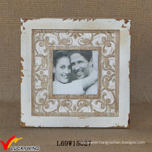 Shabby Chic Wood Table Version Couples Wood Carving Photo Frame